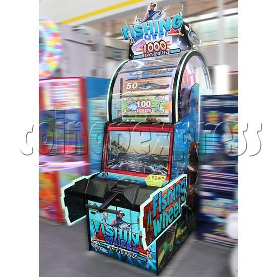 Fishing Wheel Game Ticket Redemption Arcade Machine - right view