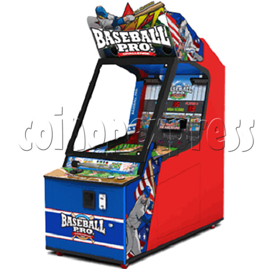 Baseball Pro Junior Ticket Redemption Arcade Machine - angle view