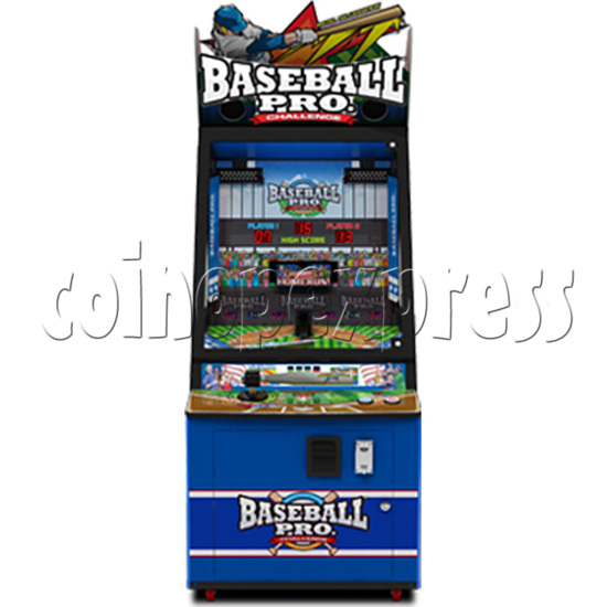 Baseball Pro Junior Ticket Redemption Arcade Machine - front view
