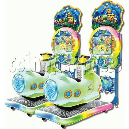 Captain Sub Video Driving Kiddie Ride  37122