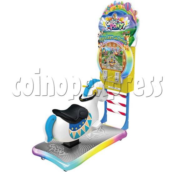 Go Go Pony Video Kiddie Rides (Plus Version) 37129
