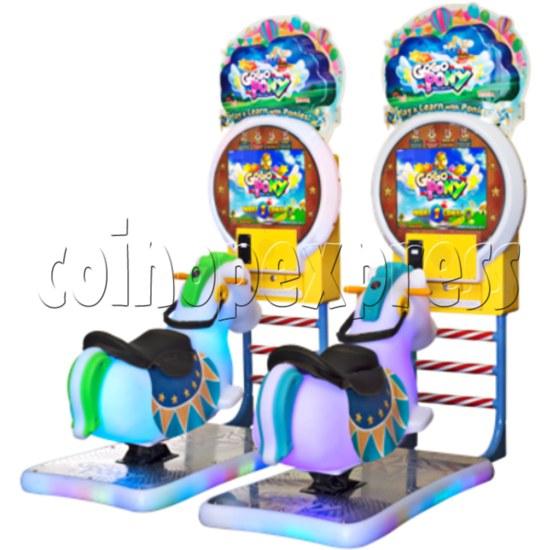 Go Go Pony Video Kiddie Rides (Plus Version) 37131