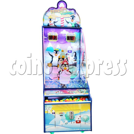 Penguin Village Skill Test Redemption Game Machine 37163