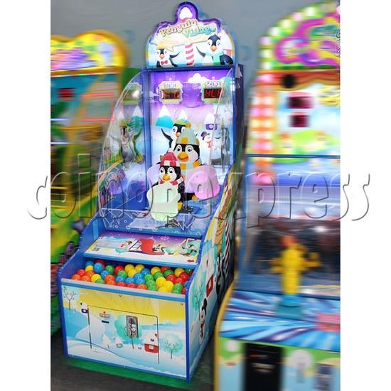 Penguin Village Skill Test Redemption Game Machine 37164