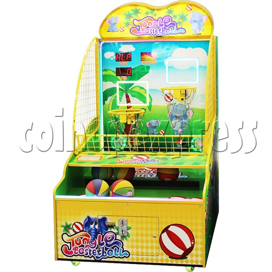 Jungle Family Basketball Redemption Machine 37203