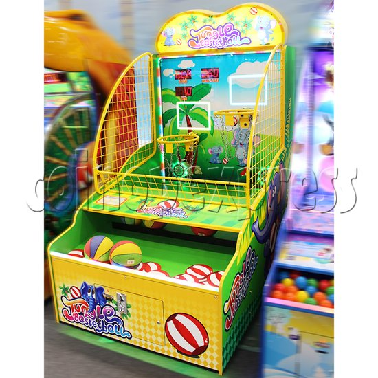 Jungle Family Basketball Redemption Machine 37204