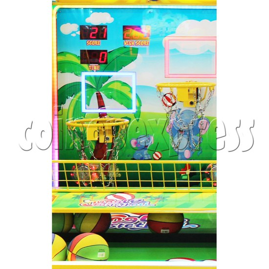 Jungle Family Basketball Redemption Machine 37205