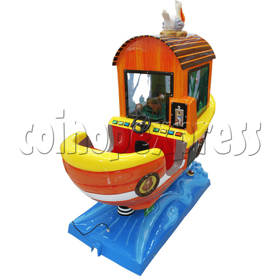 Arka Funny Boat Kiddie Ride with 8 Push Button Controlling  37269
