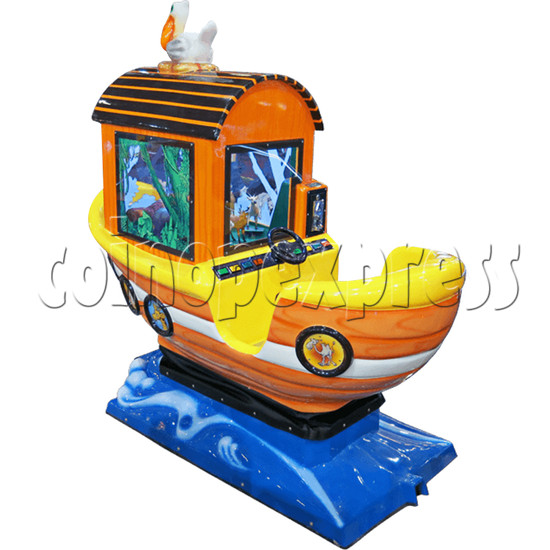 Arka Funny Boat Kiddie Ride with 8 Push Button Controlling  37270