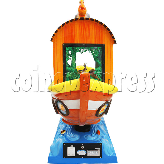 Arka Funny Boat Kiddie Ride with 8 Push Button Controlling  37271