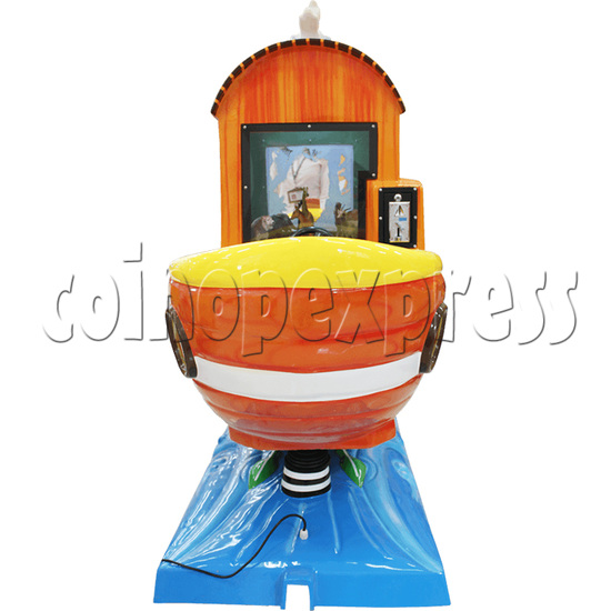 Arka Funny Boat Kiddie Ride with 8 Push Button Controlling  37272