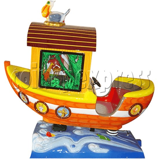 Arka Funny Boat Kiddie Ride with 8 Push Button Controlling  37273