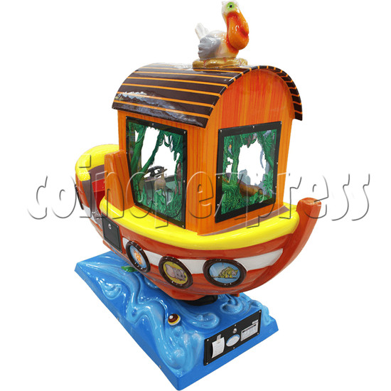 Arka Funny Boat Kiddie Ride with 8 Push Button Controlling  37274