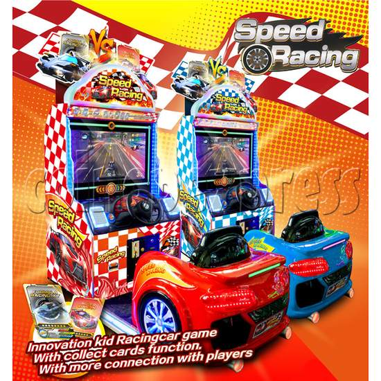 Speed Racing Collecting Card Game Machine 37309