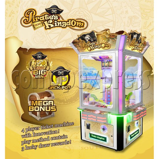 Pirate's Kingdom Redemption Machine (4 players) 37315