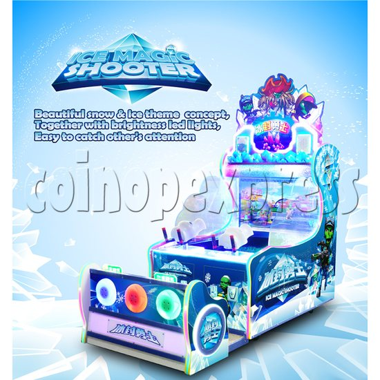 Ice Magic Shooter Water Game 37328