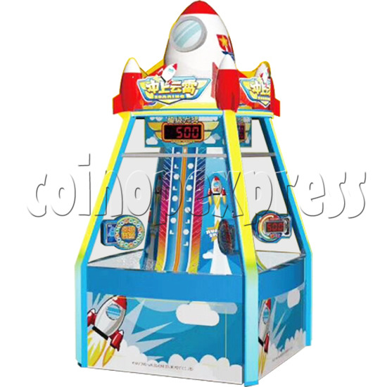 Triumph in The Sky Ticket Redemption Arcade Machine 4 Players - angle view