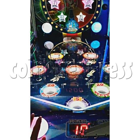 Star Raider Funny Ball Ticket Redemption Arcade Machine - playfield 1