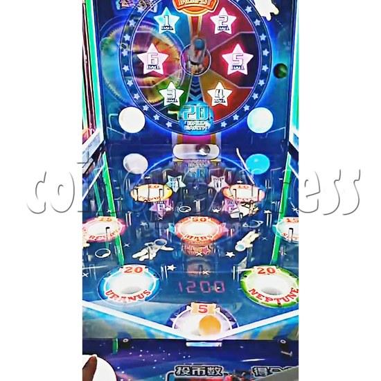 Star Raider Funny Ball Ticket Redemption Arcade Machine - playfield 2