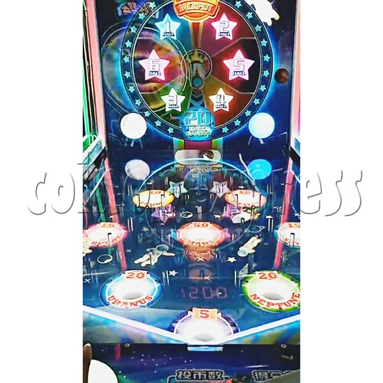 Star Raider Funny Ball Ticket Redemption Arcade Machine - playfield 3