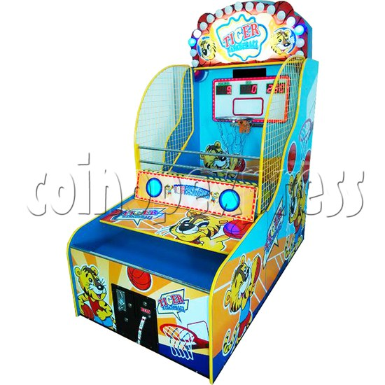Naughty Tiger Basketball Machine 37359