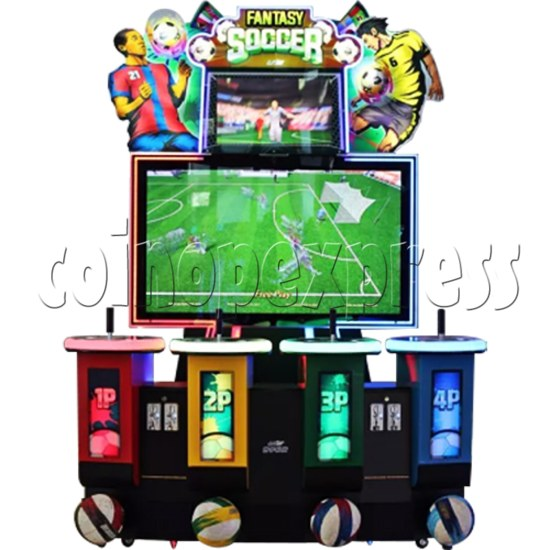 Fantasy Soccer Sport Arcade Machine 4 Players 37418