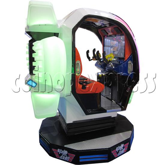 Sky Guardian Rotating Video Kiddie Ride (2 players) 37431