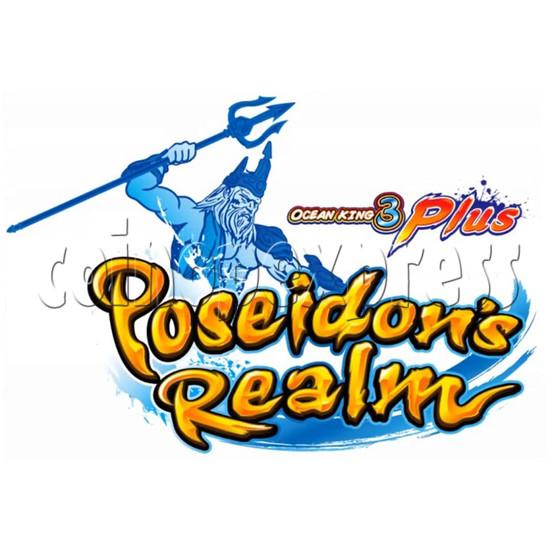 Ocean King 3 Plus Poseidon Realm Full Game Board Kit China Release Version - game logo