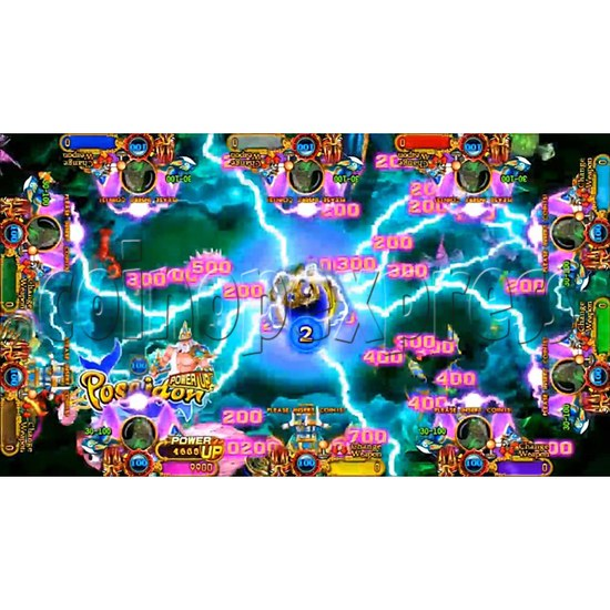 Ocean King 3 Plus Poseidon Realm Full Game Board Kit China Release Version - screen display-2