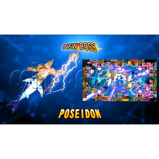 Ocean King 3 Plus Poseidon Realm Full Game Board Kit China Release Version - screen display-1