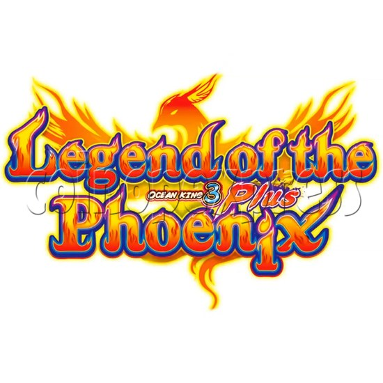Ocean king 3 plus: Legend of the Phoenix Game board kit (China release) - game logo