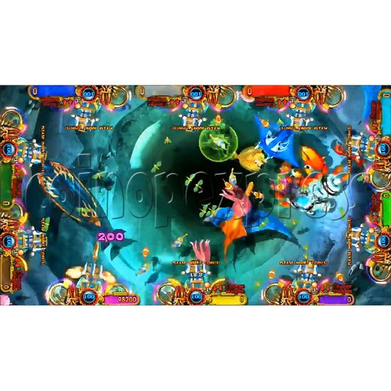 Ocean king 3 plus: Legend of the Phoenix Game board kit (China release) - screen display-13