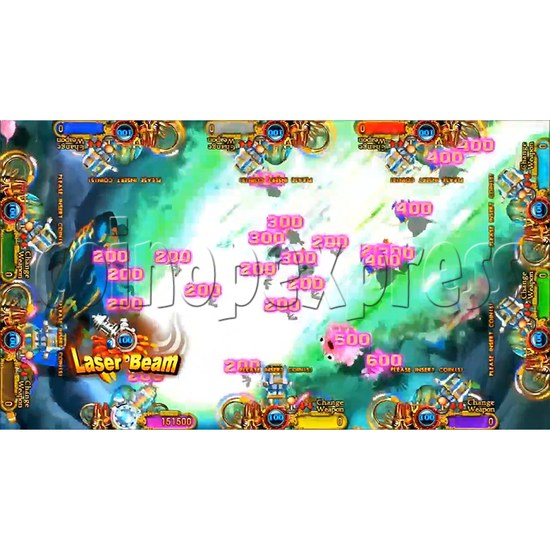 Ocean king 3 plus: Legend of the Phoenix Game board kit (China release) - screen display-9
