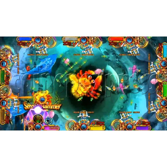 Ocean king 3 plus: Legend of the Phoenix Game board kit (China release) - screen display-12