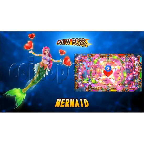 Ocean king 3 plus: Legend of the Phoenix Game board kit (China release) - screen display-5