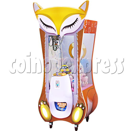 28 inch Cartoon Fox Toys Crane Machine 37582
