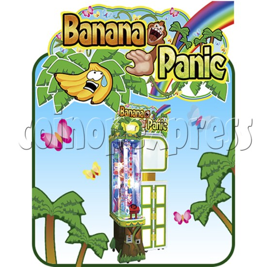Banana Panic Skill Test Prize Machine 37588