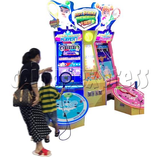 Hot Strike Tennis Ticket Redemption Arcade Machine 2 Players - play view 1