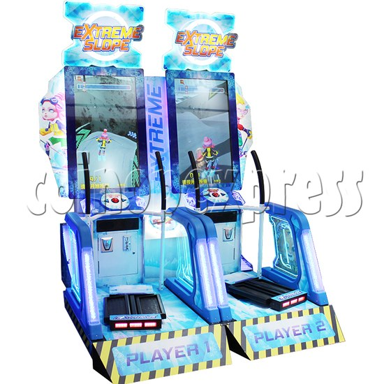 Extreme Slope Ticket Redemption Arcade Machine - left view