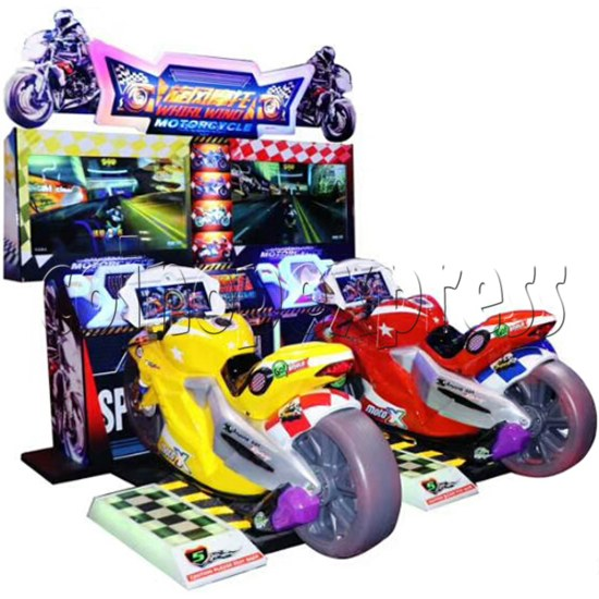 Whirlwind Motorcycle Driving-Riding Game 37602