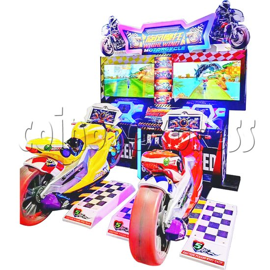 Whirlwind Motorcycle Driving-Riding Game 37604