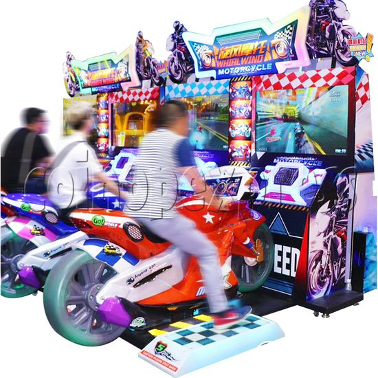 Whirlwind Motorcycle Driving-Riding Game 37605