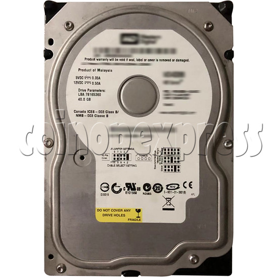 Hard Disk with Software for Battle Gear 4 Tuned machine 37650