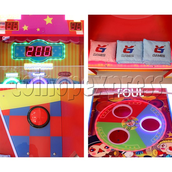 Sand Bags Toss Ticket redemption machine ( 2 players) 37667
