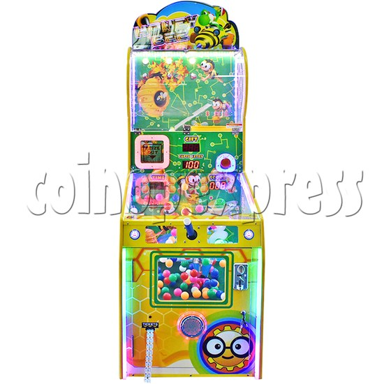 Honey Bee Skill Test Ticket redemption machine with movable paddle 37679