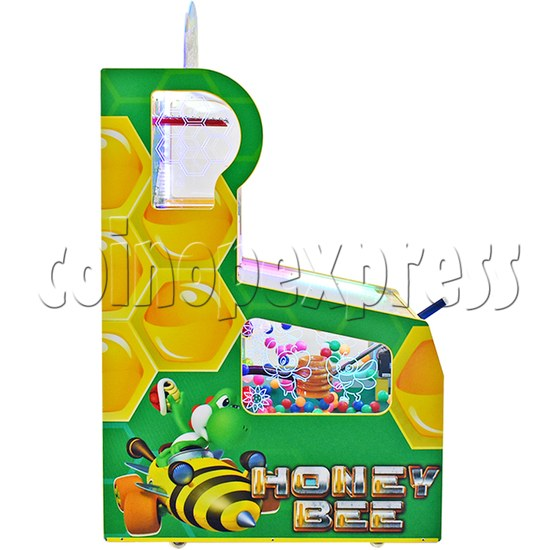 Honey Bee Skill Test Ticket redemption machine with movable paddle 37681