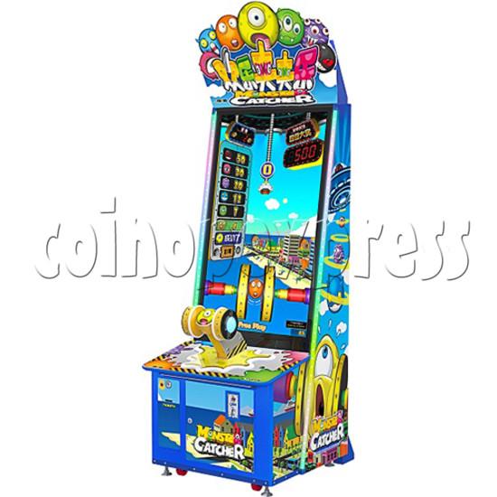 Monster Catcher Skill Test Video Redemption Game machine 37719