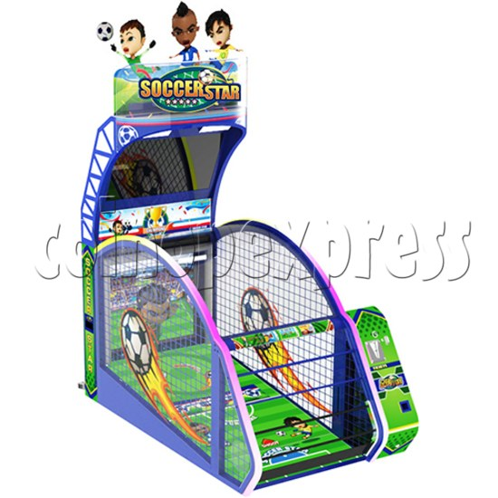 Soccer Star Football Shooting Redemption machine 37781