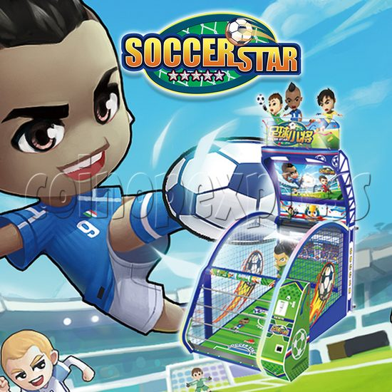 Soccer Star Football Shooting Redemption machine 37783