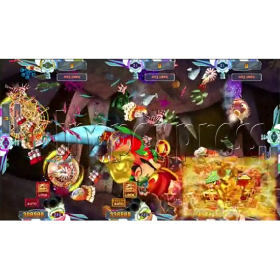 Seafood Paradise 4 USA Edition Fishing Game Full Game Board Kit - screen display 10